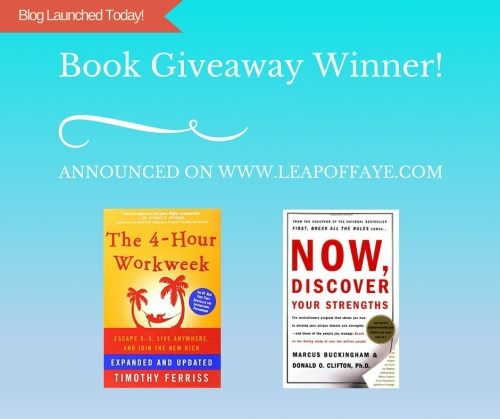 Book Giveaway Winner